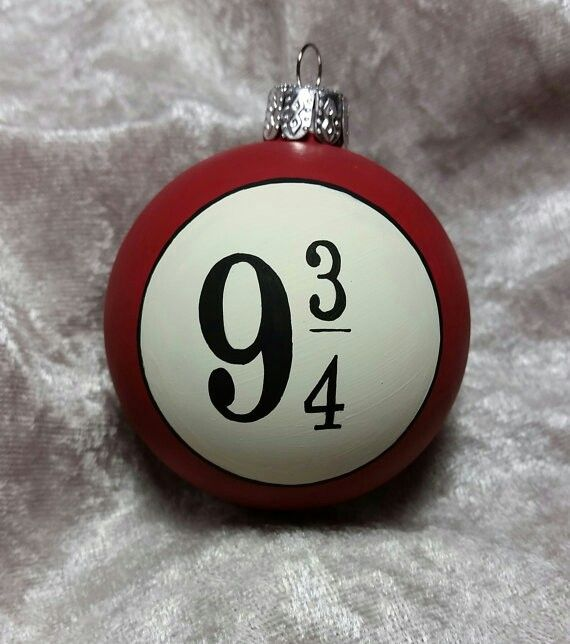 Platform 9 3/4 Christmas ornament