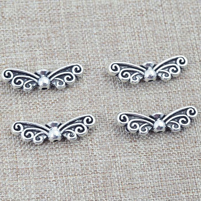 Cheap Farfalla vintage d'argento tibetani dei monili accessori fai da te per monili che fanno argento antico accessori 0248, Compro Qualità Perline direttamente da fornitori della Cina:     Beads formato circa 22x5mm            Trasporto libero ------ dalla cina posta di aria        Usa, regno unito, cana
