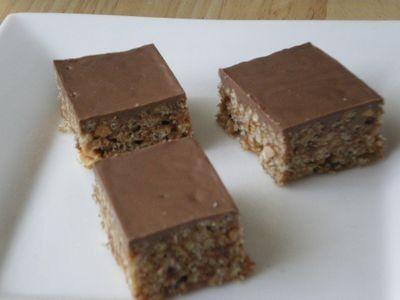 Gluten-Free Chocolate Bubble Slice recipe