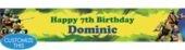 Teenage Mutant Ninja Turtles Custom Banner 6ft- Boys Birthday Banners- Custom Banners- Custom Invitations- Invitations - Party City