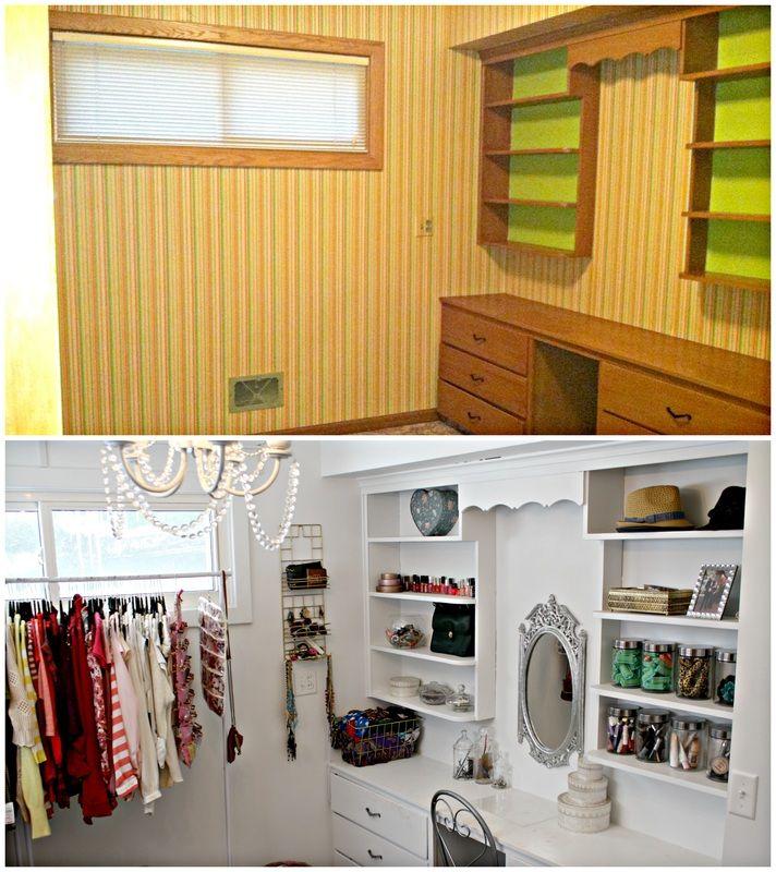 spare bedroom = closet