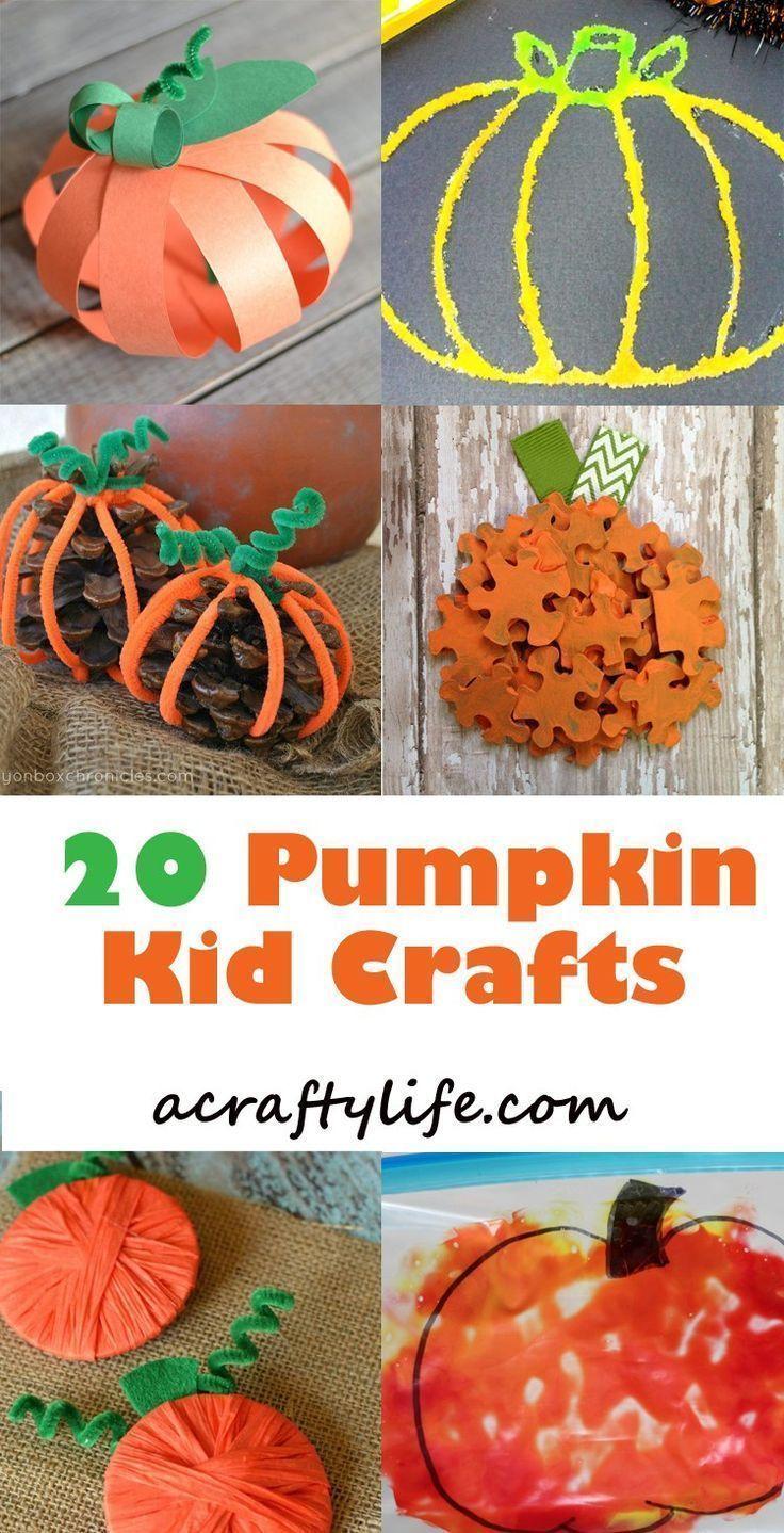 Autumn crafts from vegetables in kindergarten and school 5