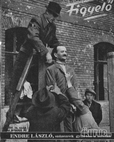 On March 29th 1946 fascist Hungarian politicians Laszlo Baky and Laszlo Endre were executed by hanging in Budapest for their role in the decimation of Hungarian Jewry.