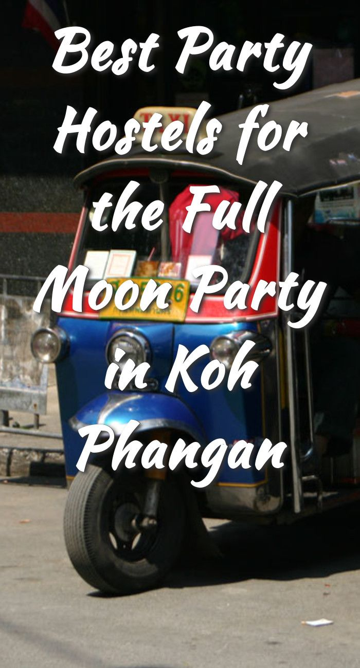 Best Party Hostels for the Full Moon Party in Koh Phangan: Koh Phangan is one of the top party destinations in Thailand. Most people head…