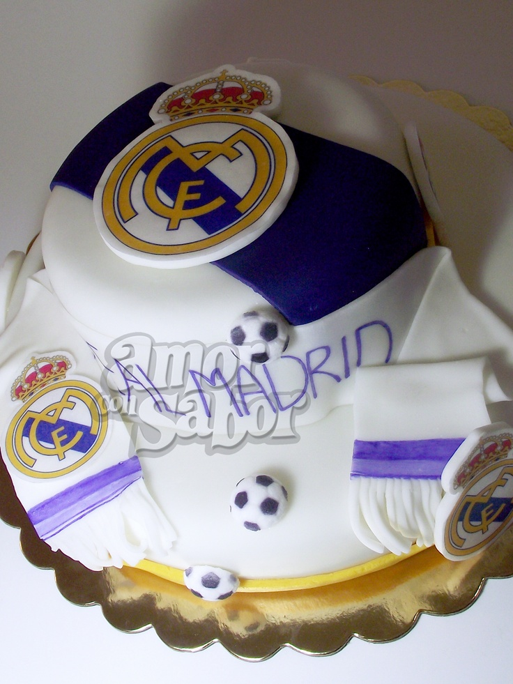 Pastel del Real Madrid / Real Madrid Cake