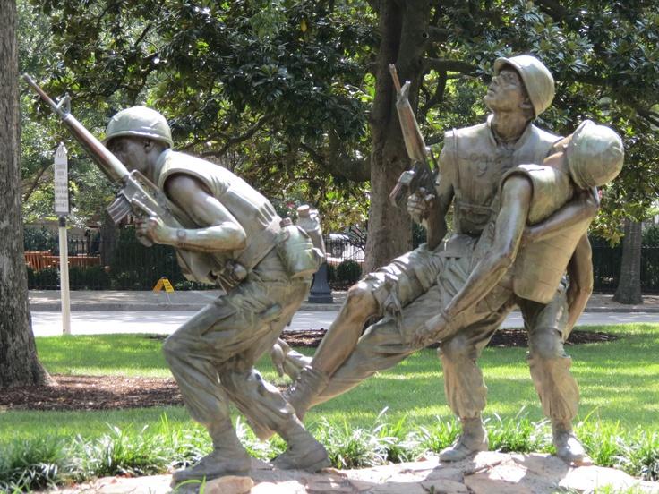 Vietnam War Veteran's Memorial on NC state capitol grounds ...