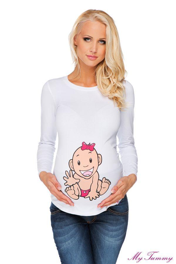 Bluzka ciążowa Dziewczynka