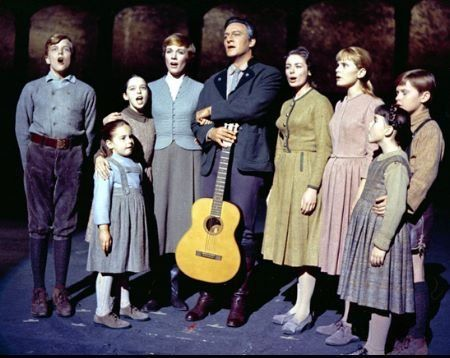 The Sound of Music My friends & I played this on the playground for years after seeing it on t.v. the night before.