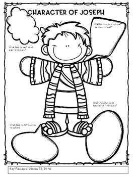 Joseph and his coat Bible Lesson (My Story Series)(1st-4th