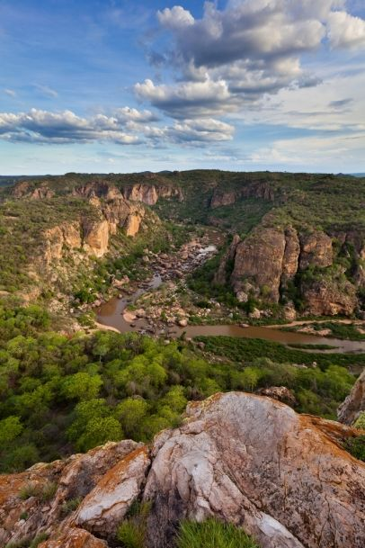 Cliffs of the Lanner Gorge in the Kruger National Park. BelAfrique your personal travel planner - www.BelAfrique.com
