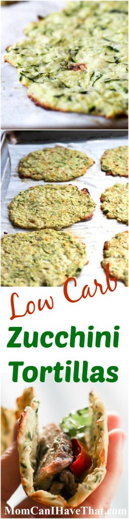Healthy baked low carb Zucchini Tortillas for soft tacos and fajitas! A great addition to any low carb dinner or have them as a snack! This recipe is low carb, gluten-free, keto and THM compliant.