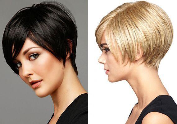 Corte de pelo concavo corto