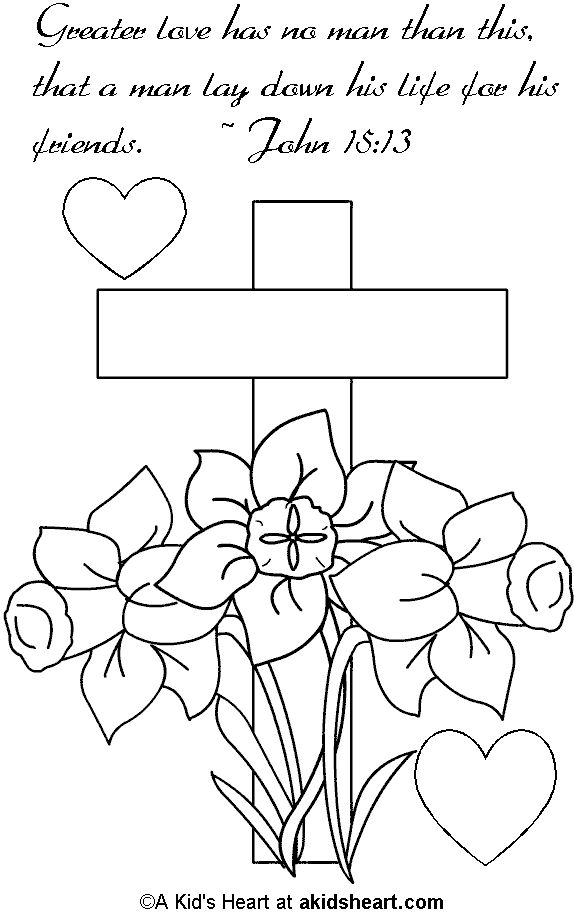 Bible Memory Verse Coloring Page inside Bible Coloring