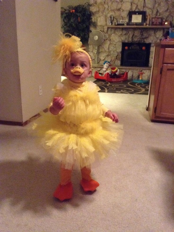 Baby Duck Tutu Costume love the tutu idea for Norau0027s duck costume & 9 best Halloween Personalized Costumes for Kids images on Pinterest ...