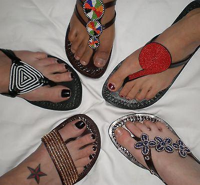 The African Handmade Maasai Fashion Sandals | eBay