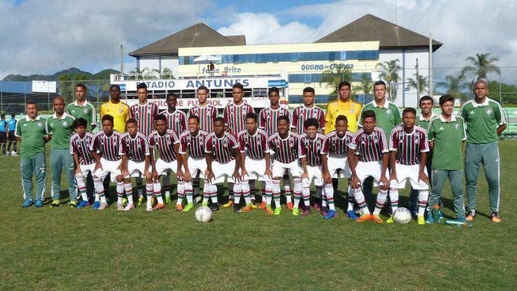 Fluminense Sub-17 fecha participação na Copa Next — Fluminense Football Club