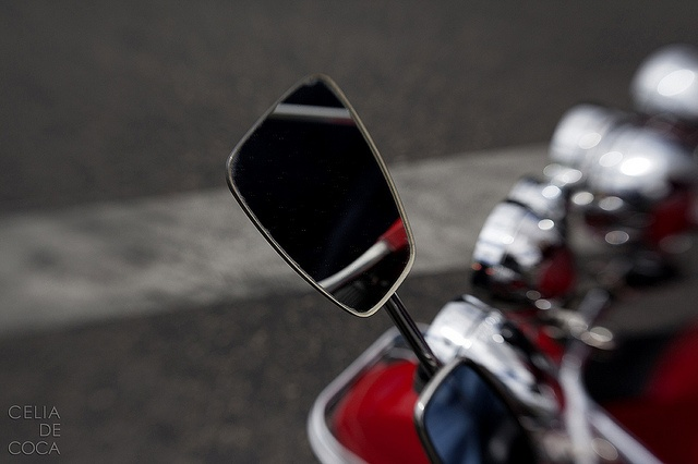 lensbaby on a vespa Madrid by celia de coca, via Flickr