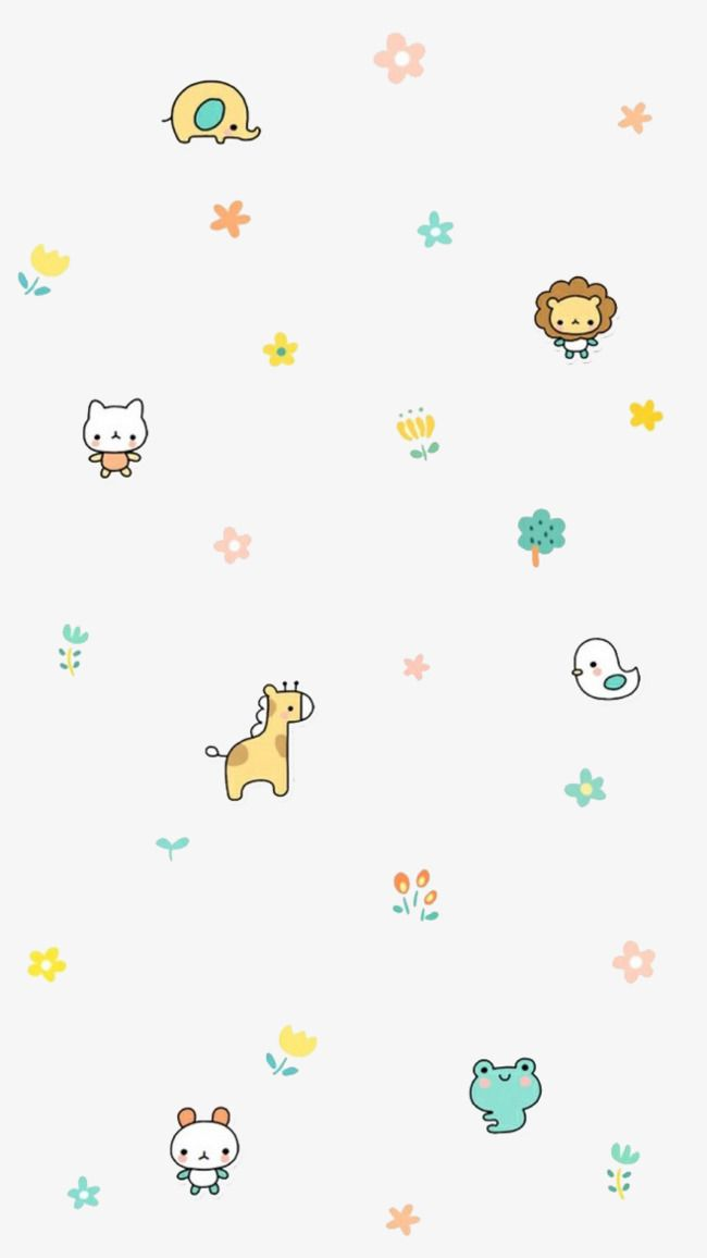 Small Animals Cute Pastel Wallpaper Cute Wallpapers Wallpaper Iphone Cute