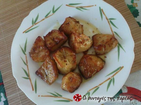 Πατάτες φούρνου αρωματικές του Jamie Oliver #sintagespareas