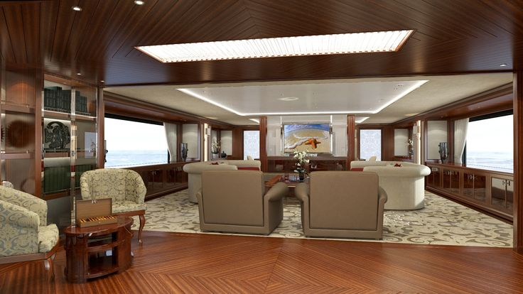 #Sanlorenzo #60Steel #Maindeck #Salon. She recalls the timeless and #classic Sanlorenzo design, combined with the most innovative technical features that modern #yachting has to offer.  #spaciousness #Sanlorenzo60Steel #Megayacht #Luxury #SimpsonMarine