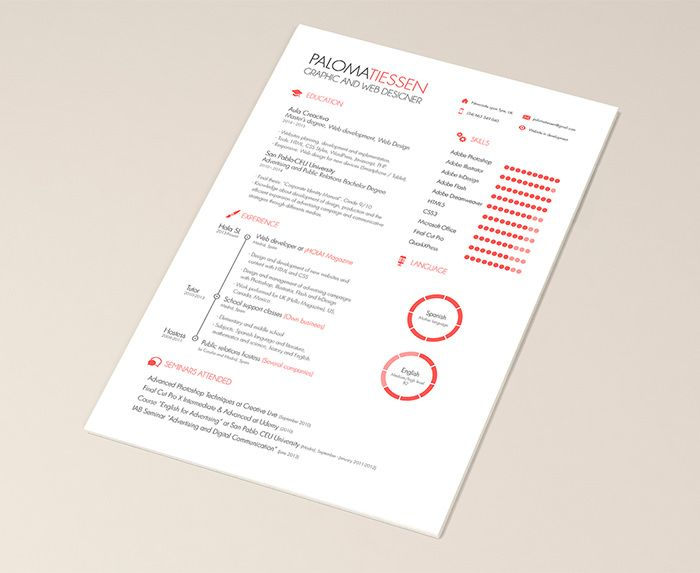 30 free beautiful resume templates to download. Resume Example. Resume CV Cover Letter
