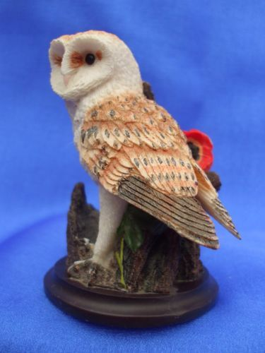 Collectable 2002 Country Bird Collection Andy Pearce Barn OWL Ornament | eBay