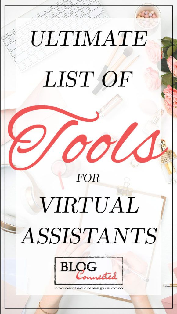 Ultimate list of Resources and Tools for Virtual Assistants