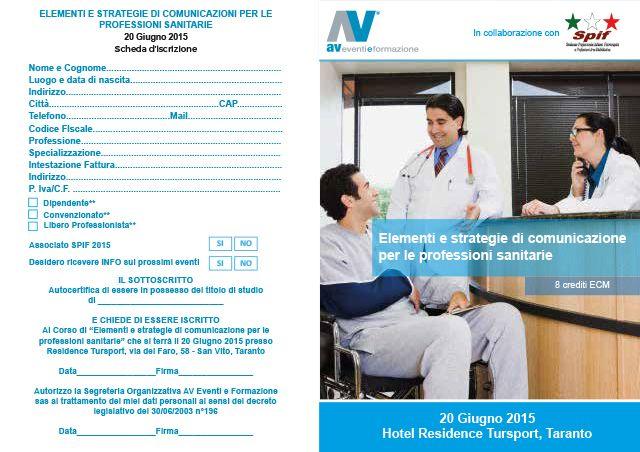 Elementi e strategie di comunicazione per le professioni sanitarie