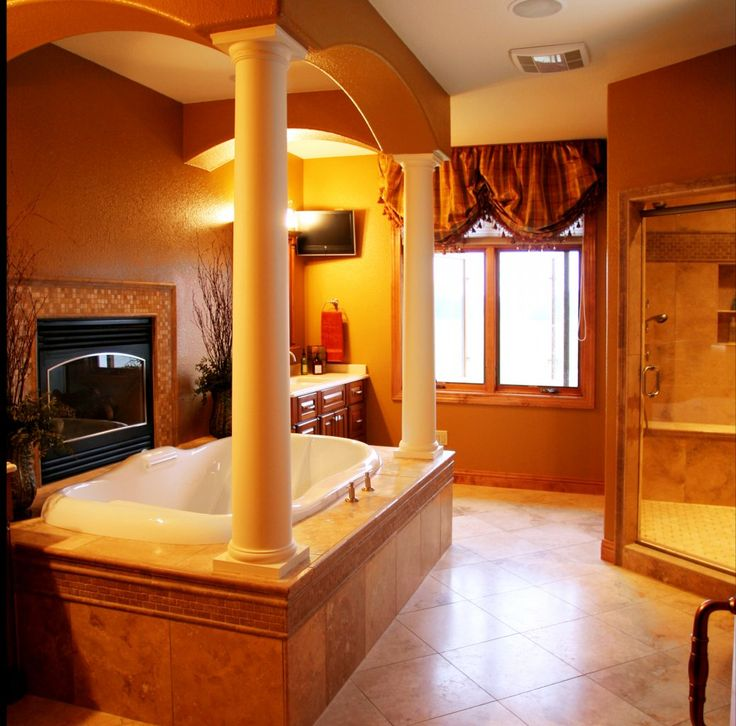 Master bathroom remodel design. Large Bathroom Remodeling