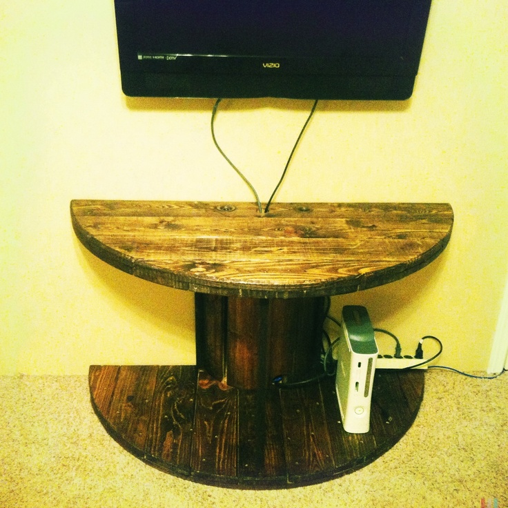 The 100+ best spool ideas images on Pinterest | Cable reel table ...