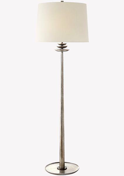Торшер Beaumont ARN1301BSL-L-EU. Напольный светильник, который делает уютнее любой интерьер: от самой строгой классики до пестрого фьюжна. Элегантный источник света идеальной высоты и пропорций. Торшер дает очень теплый свет и мягко освещает выбранный уголок как ранним утром, так и темной ночью. Светильник может быть выполнен в разных отделках: полированный никель или состаренная латунь – два ярких характера на самый изысканный вкус.