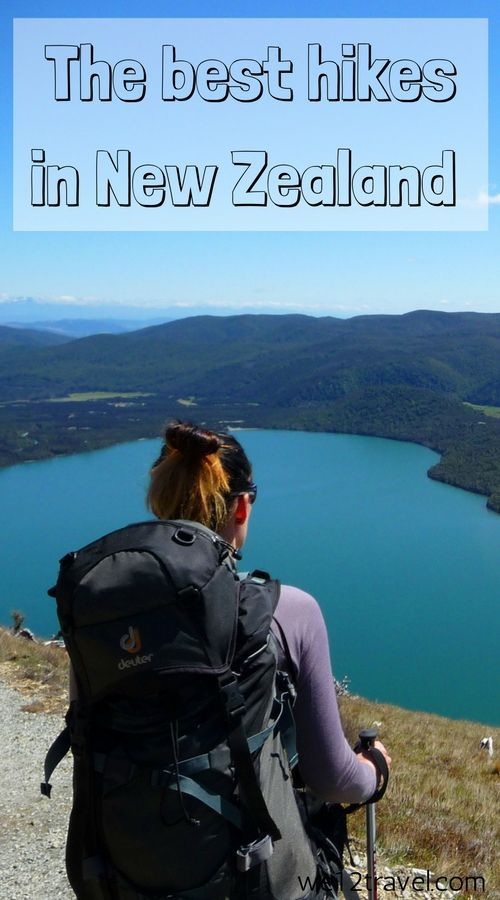 The best hikes in New Zealand - from short ones to longer ones and multi-day ones. Our blog is your ultimate resource for hiking in New Zealand and all you want to know about it!
