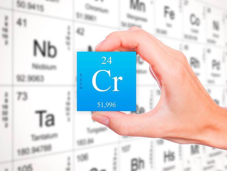 Хром– жизненно важный элемент, которыйв организме человекаактивирует ферменты, участвующие в метаболизме углеводов; в синтезе жирных кислот, холестерина и белков. Хром регулирует уровень сахара в к…