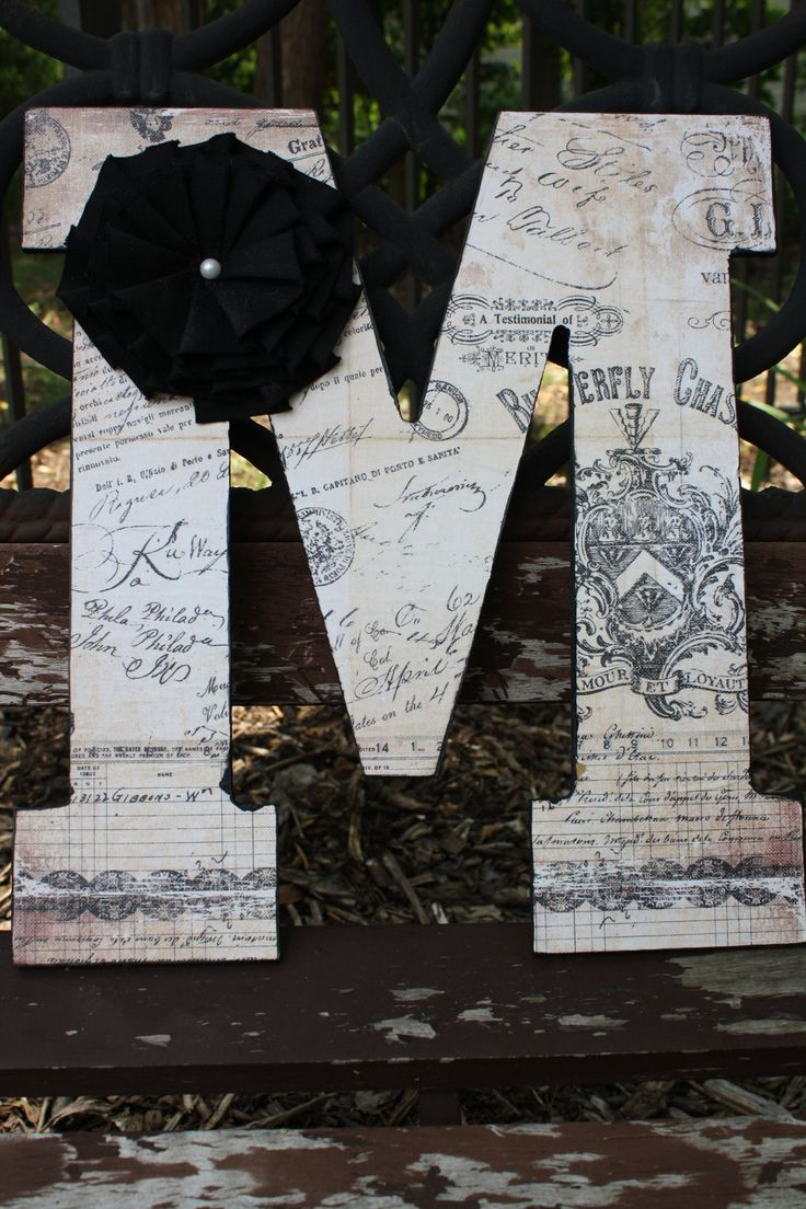 this would be so easy large wooden letter t and mod podge beautiful greyyellow papers cheap craft paper at hobby lobby or favorite pics from the