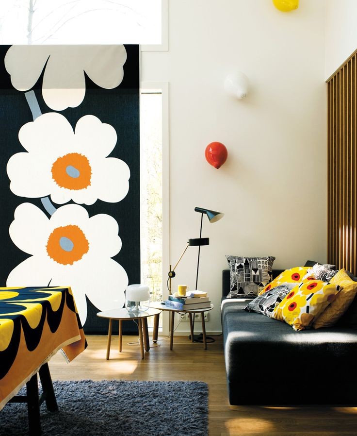 Marimekko: The Spirit of Unikko. The success of Finnish design brand Marimekko has continued since the company was founded in 1951 with its bright bold designs.