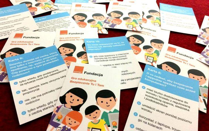 bezpieczeństwo dzieci w sieci - gra - orange fundacja