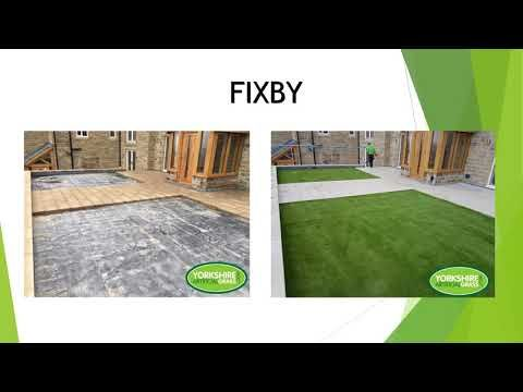 Before & After | Yorkshire Artificial Grass Ltd - YouTube