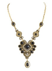 Ebony Riviera Necklace: Riviera Necklaces