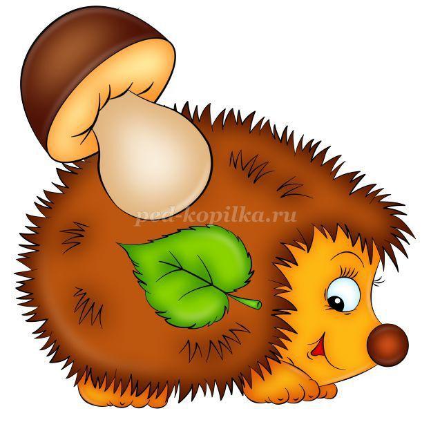Картинки ежика для детей (33 фото) | Tatty teddy, Clip art, Crafts ...