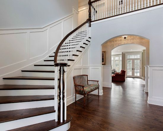 94 best images about stairs on pinterest railing design - Interior stair railing contractors ...