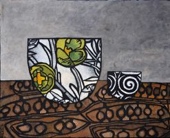 print by Julie Hickson, Two Bowls