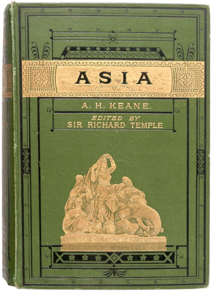 Asia by Henry Augustus, London, Stanford 1882