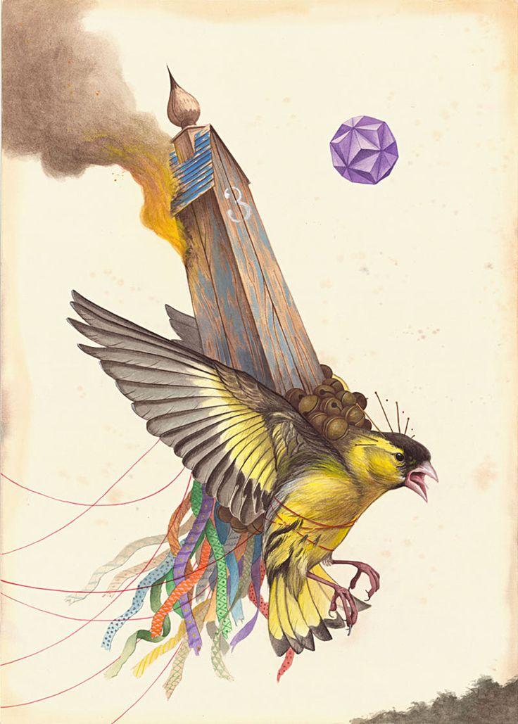 Оккультизм и животные в рисунках El Gato Chimney (Интернет-журнал ETODAY)