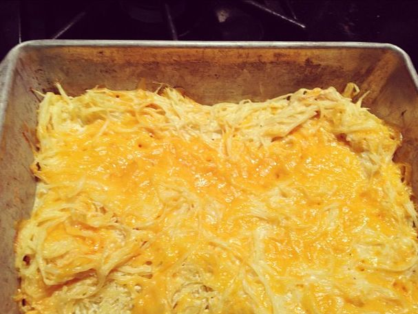 spaghetti squash mac and cheese bake