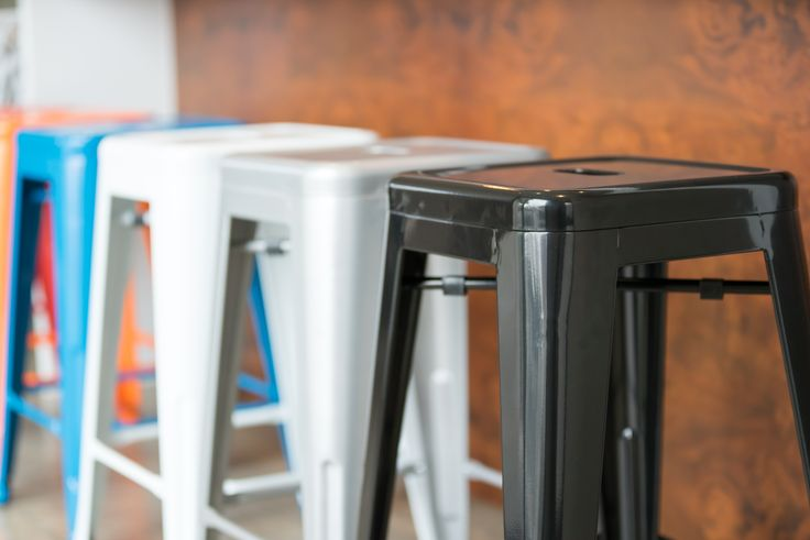 Beautiful from any angle...our stool collection coming in Black, Orange, White, Silver and Blue! check them out here: https://www.urbanmod.net/collections/stools