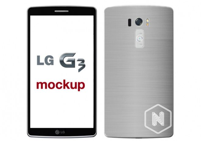 LG G3 mock-up created from reported leaked information - http://tchnt.co.uk/1nsdhfa