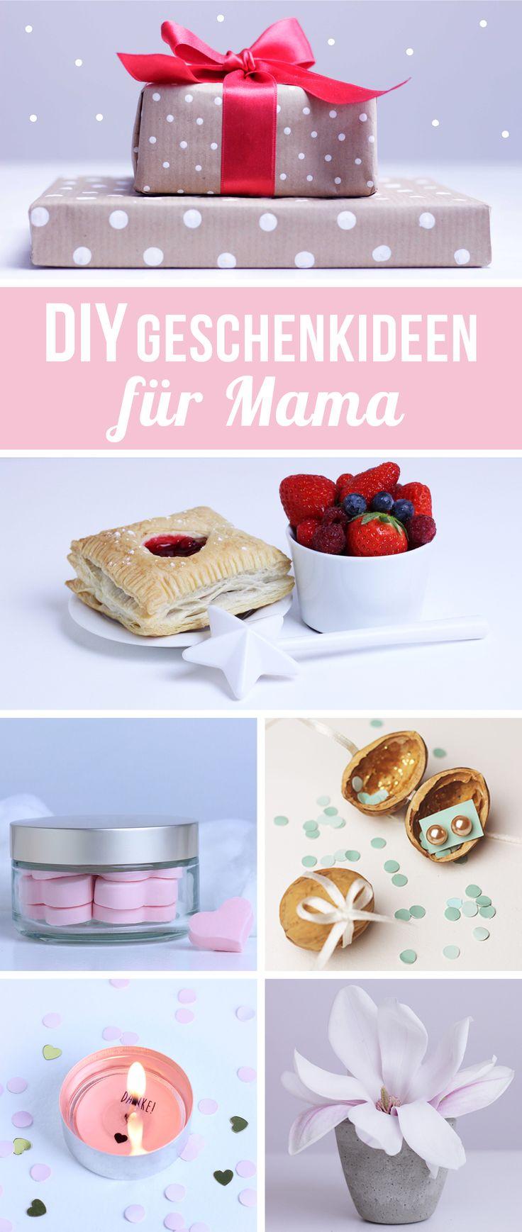 Muttertagsgeschenk basteln - DIY Muttertagsgeschenk - Muttertag Geschenkideen - Muttertagsgeschenke selber machen