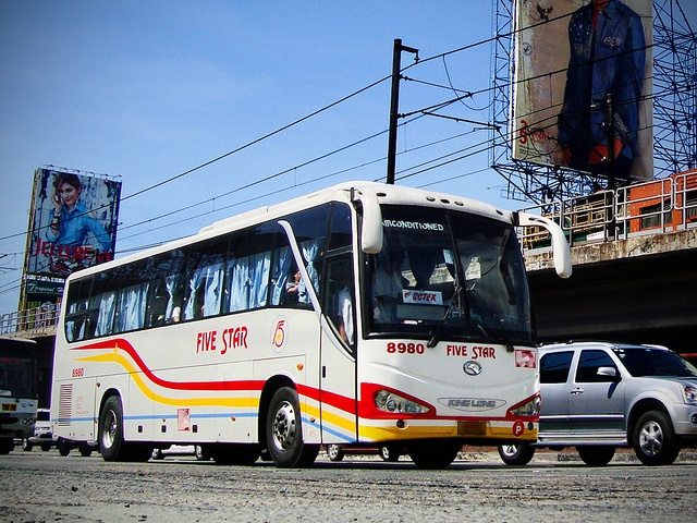 Shot Location: EDSA-Cubao cor. New York Ave. (Pablo P. Reyes, Sr. Street), Quezon City, Philippines  Date Taken: May 19, 2012    Basic Details:  Operator: FIVE STAR BUS COMPANY, INC.  Fleet Number: 8980  Classification: Air-Conditioned Provincial Operation automotive news