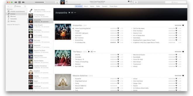 iTunes 12.4.2 llega para solucionar un problema con algunas reproducciones