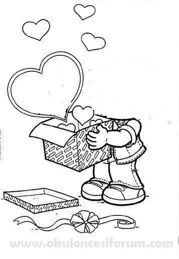 Annemize sevgi dolu bir kutu hediye… :) | OKUL ÖNCESİ FORUM